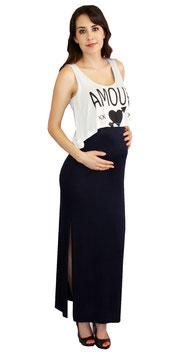 TM Maternity Dress - Model 4430 Dark Blue