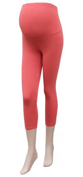 Gregx Maternity 3/4 Leggings - Coral