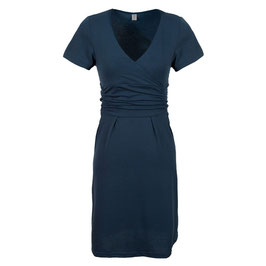 Grace Maternity Dress DR99 - Navy Blue