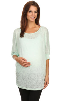 J-Mode Maternity Tunic Model T5711SL Mint