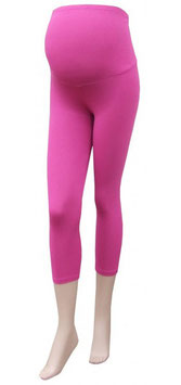 Gregx Maternity 3/4 Leggings - Pink
