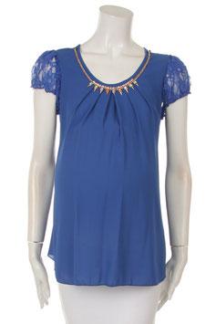 QT Fashion Maternity Top 10093 Blue