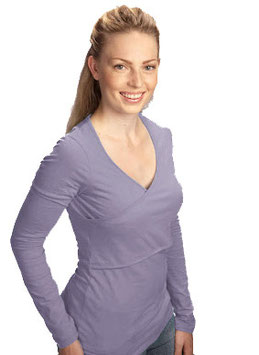 Warm Nursing Criss-Cross - Lavender