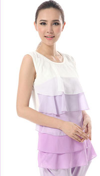 GMC Nursing Top - BK057 Purple