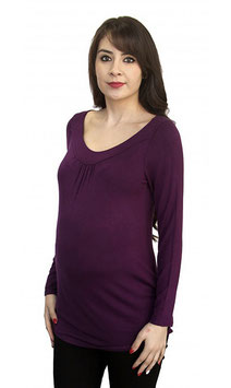 TM Maternity Top Model 4212 Royal Purple