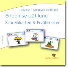 Erlebniserzählung - Schreib- & Erzählkarten