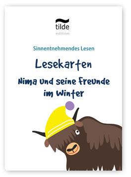 Nima im Winter: Lesekarten für die Bild-Satz-Zuordnung