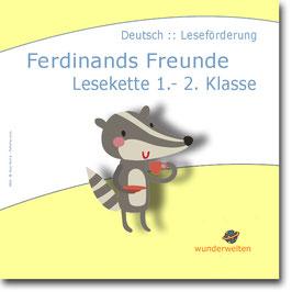 Ferdinands Feunde: Lesekette - Ich habe wer hat Spiel