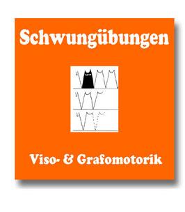 Schwungübungen zur Förderung der Graphomotorik