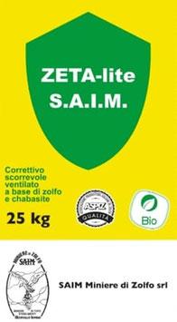 Zolfo e Chabasite SACCO 25 KG