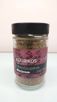 KOURIKOS Marjoram 30gr glass jar