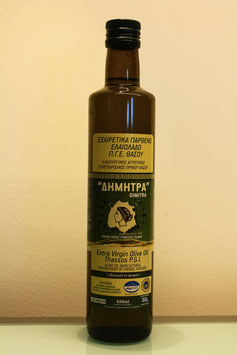 Dimitra Extra Virgin Oliveoil 500ml