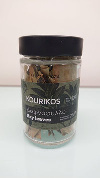 KOURIKOS Bay Leaves 25gr glass jar