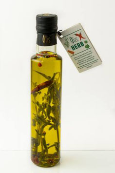 OLIS - Extra Virgin Olive Oil with Herbs 250ml