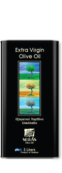 SELLAS Extra virgin olijf olie 5Lt
