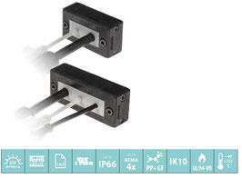 DES L5 Deelbaar frame voor verschillende,  vrij configureerbare indelingen met kleine tules