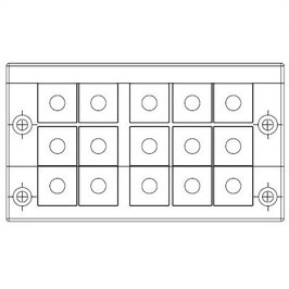 FRAME for adaption of 15 inserts small
