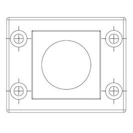 FRAME for adaption of 1  inserts large