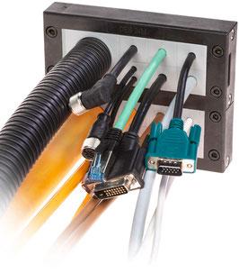 DES 24 MX Stapelbaar en deelbaar frame voor verschillende,  vrij configureerbare indelingen. IP54