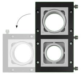 DES 380 MX Stapelbaar en deelbaar frame voor verschillende,  vrij configureerbare indelingen. IP54