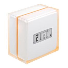 Thermostat Intelligent Netatmo pour rendre le chauffage connecté compatible chaudières et pompe à chaleur