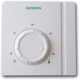Thermostat d'ambiance simple filaire SIEMENS RAA21
