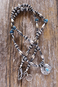 Silver & Turquoise Necklace