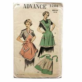 ADVANCE-Schnittmuster Schürzen VINTAGE 1950s