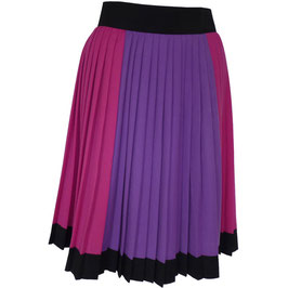 Plisséejupe Gr. S Cool Wool VINTAGE 1980s magenta-violett