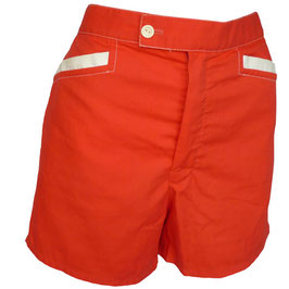 Shorts rot VINTAGE California 1970s Gr. M