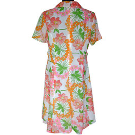 Kleid Batist sommerlich leicht VINTAGE 1970s Gr. XL