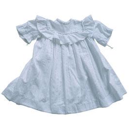 Babykleidchen VINTAGE 1940s Baumwolle weiss 6-12 Monate