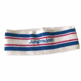 Stirnband Jungfraujoch weiss VINTAGE 1990s