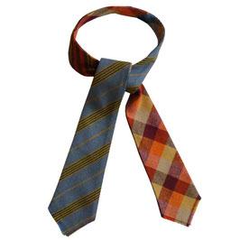 Krawatte Tweed  Scotland mit 4 Muster VINTAGE 1960s