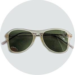 Sonnenbrille VINTAGE ca. 40s NOS transparent