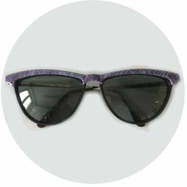 Sonnenbrille Damen lila Steg Polaroid VINTAGE 1980s