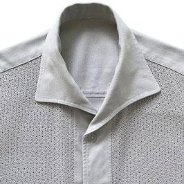 Hemd Gr. S/M Hemdjacke Herren Guayabera luftig Baumwolle kurzarm mit Taschen VINTAGE 1950s