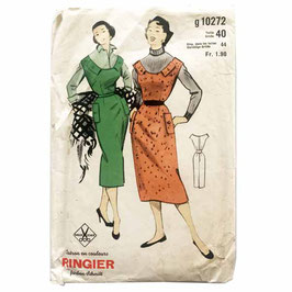 Schnittmuster RINGIER Gr. 38/40 Trägerkleid Damenkleid VINTAGE 1950s g 10272