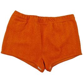 Badehose Gr. L Kräuselkrepp VINTAGE 1960s orange