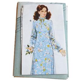 Schnittmuster burda Prinzesskleid lang 90s 36-46