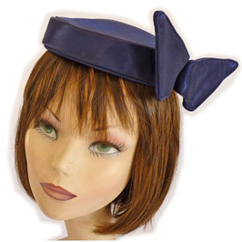 Bibi Pillbox navyblue VINTAGE 1960s