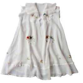 Sommerkleidchen 40s Mousseline VINTAGE 3-4 Jahre