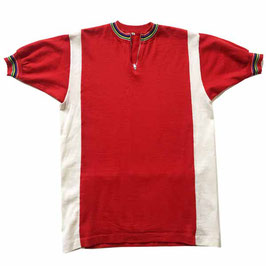 Veloleibchen rot Gr. S/M Made in Italy VINTAGE 1950s
