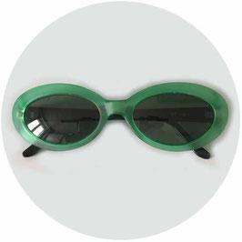 Sonnenbrille Damen grün-schwarz INCOGNITO Polaroid VINTAGE 1970s