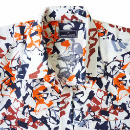 Herrenhemd bunt Gr. M/L DANIEL HECHTER Designer VINTAGE 1980s