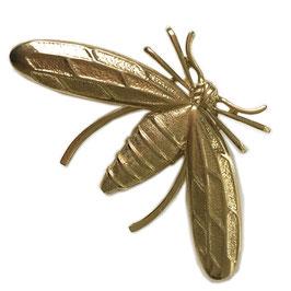 Brosche Insekt Metall gold VINTAGE