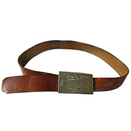 Herrengürtel Leder buckle War Belt Colt Gun 80-95