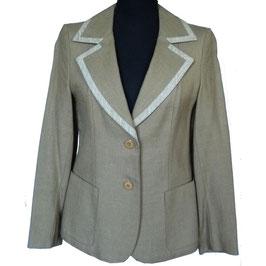 Blazer beige Preppy VINTAGE 1960s Gr. S