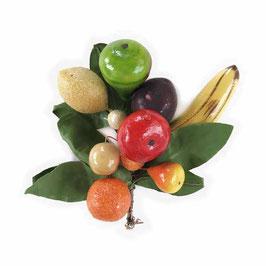 Früchtedekoration als Hutschmuck oder Brosche VINTAGE 1950s
