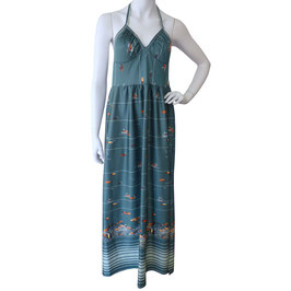 Kleid Strandkleid TRIUMPH Neckholder VINTAGE 1960s Gr. S/M